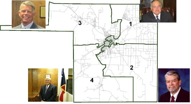 Tom Green County Precinct Map from the TGC website.