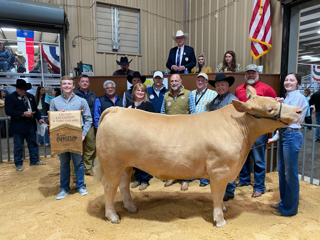 2020 Grand Champion Steer by Aven Horn.  (LIVE! Photo Yantis Green)