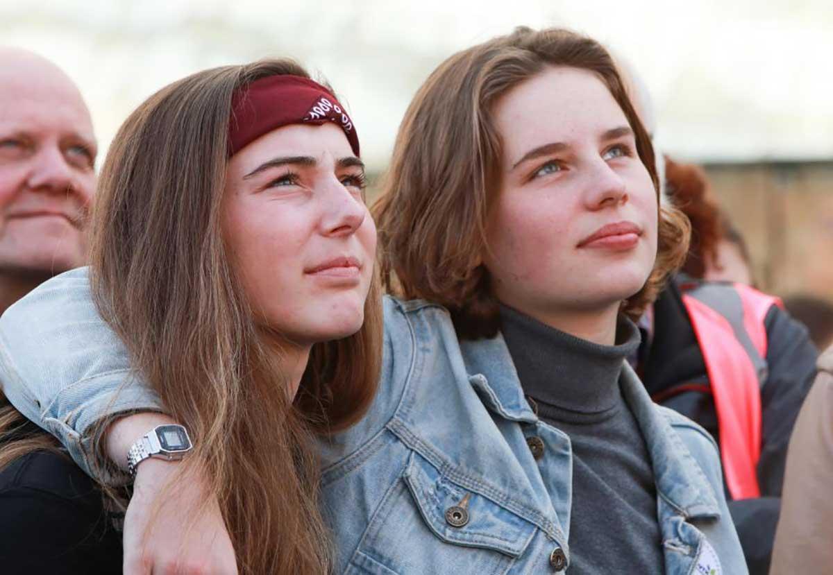 Adelaide Charlier and Anuna De Wever