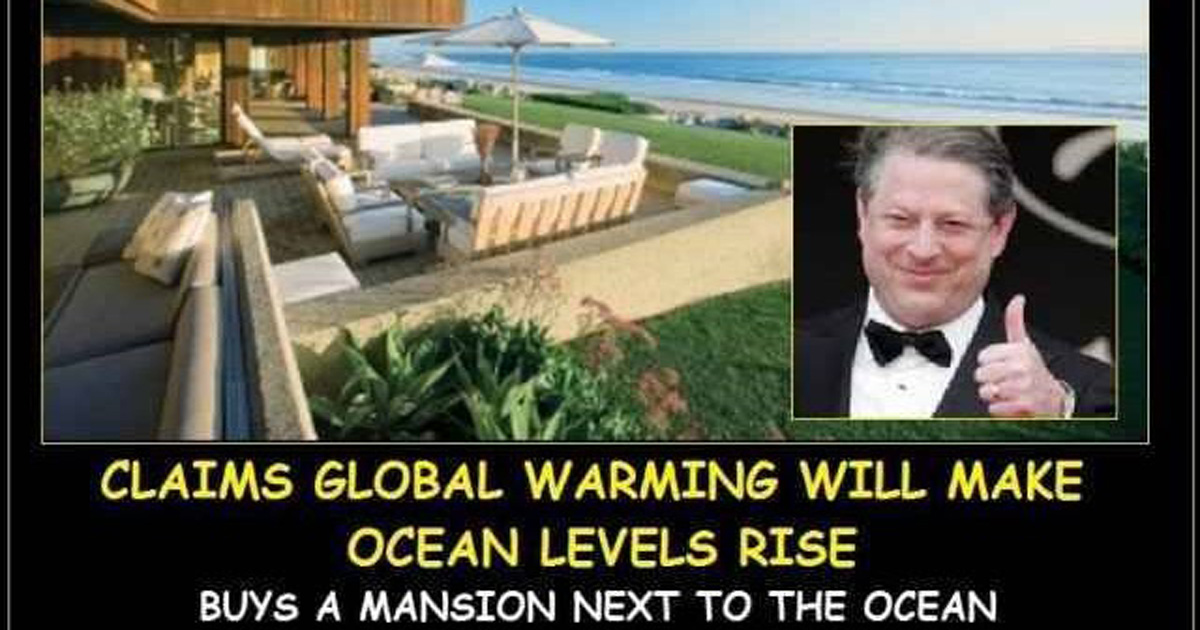 Al Gore and his mansion