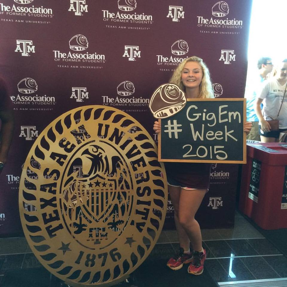 Keelie Brydson gets Accepted to Texas A&M University
