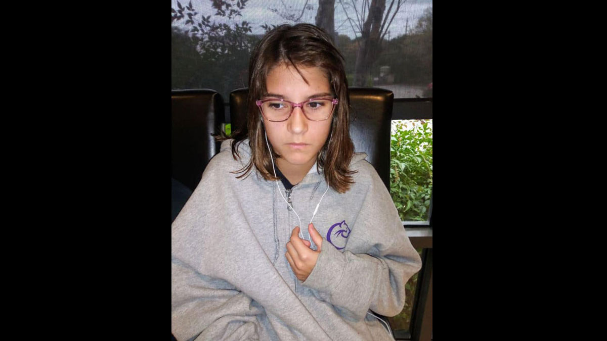12-year-old Avery Claire Reynolds