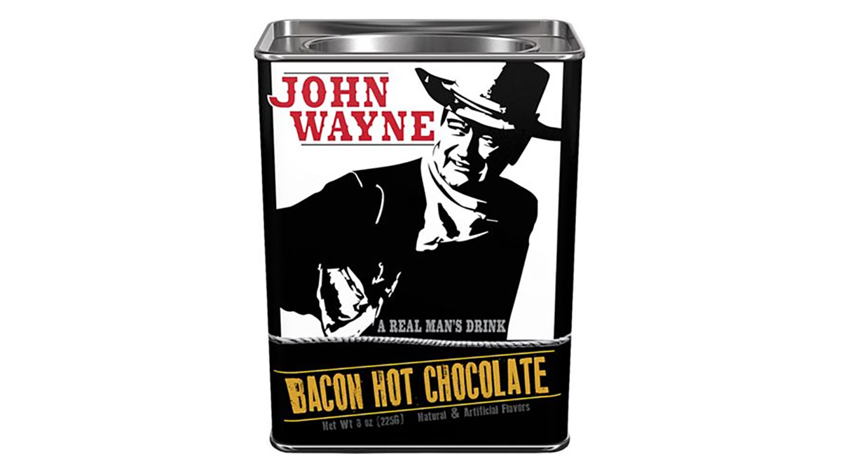 John Wayne Bacon-Chocolate Mix, or BPS. (K Hemphill)