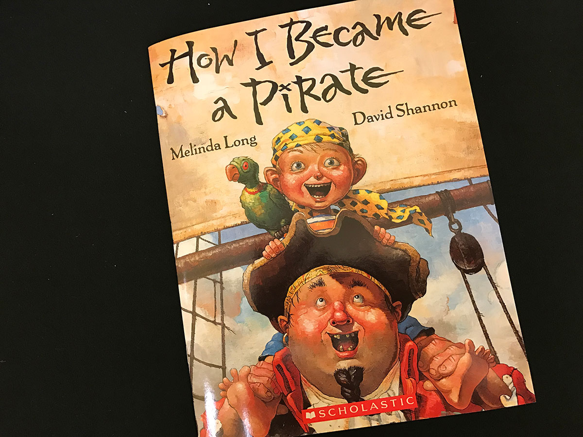"The book, ""How I Became a Pirate"" (LIVE! Photo/Joe Hyde)"