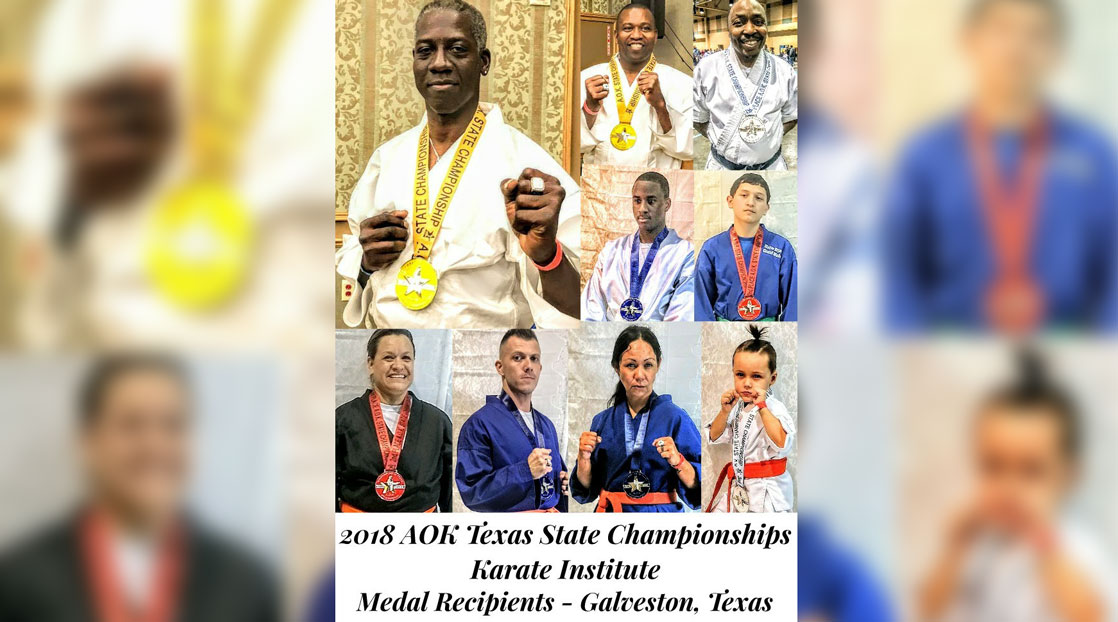 Local Karate Dojo Performed Well At A O K State Championship