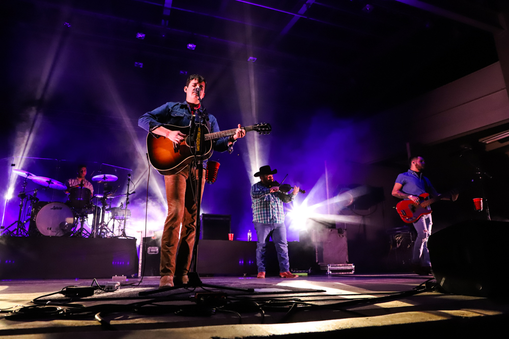 Flatland Cavalry at San Angelo's Wild West Fest on March 1, 2019. (LIVE! Photo/Courtni Fields)