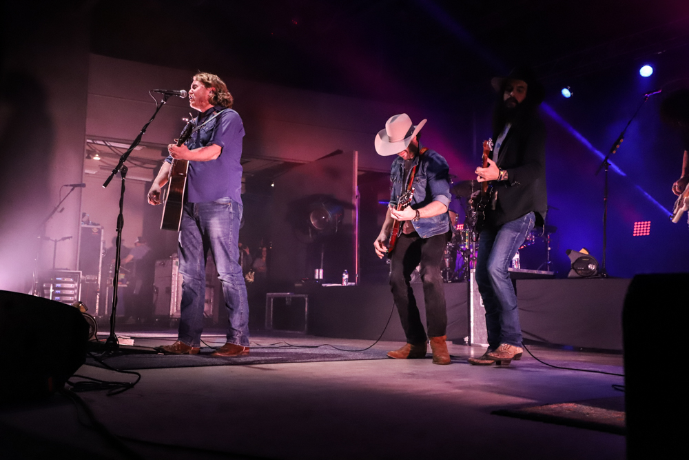 William Clark Green at San Angelo's Wild West Fest on March 1, 2019. (LIVE! Photo/Courtni Fields)