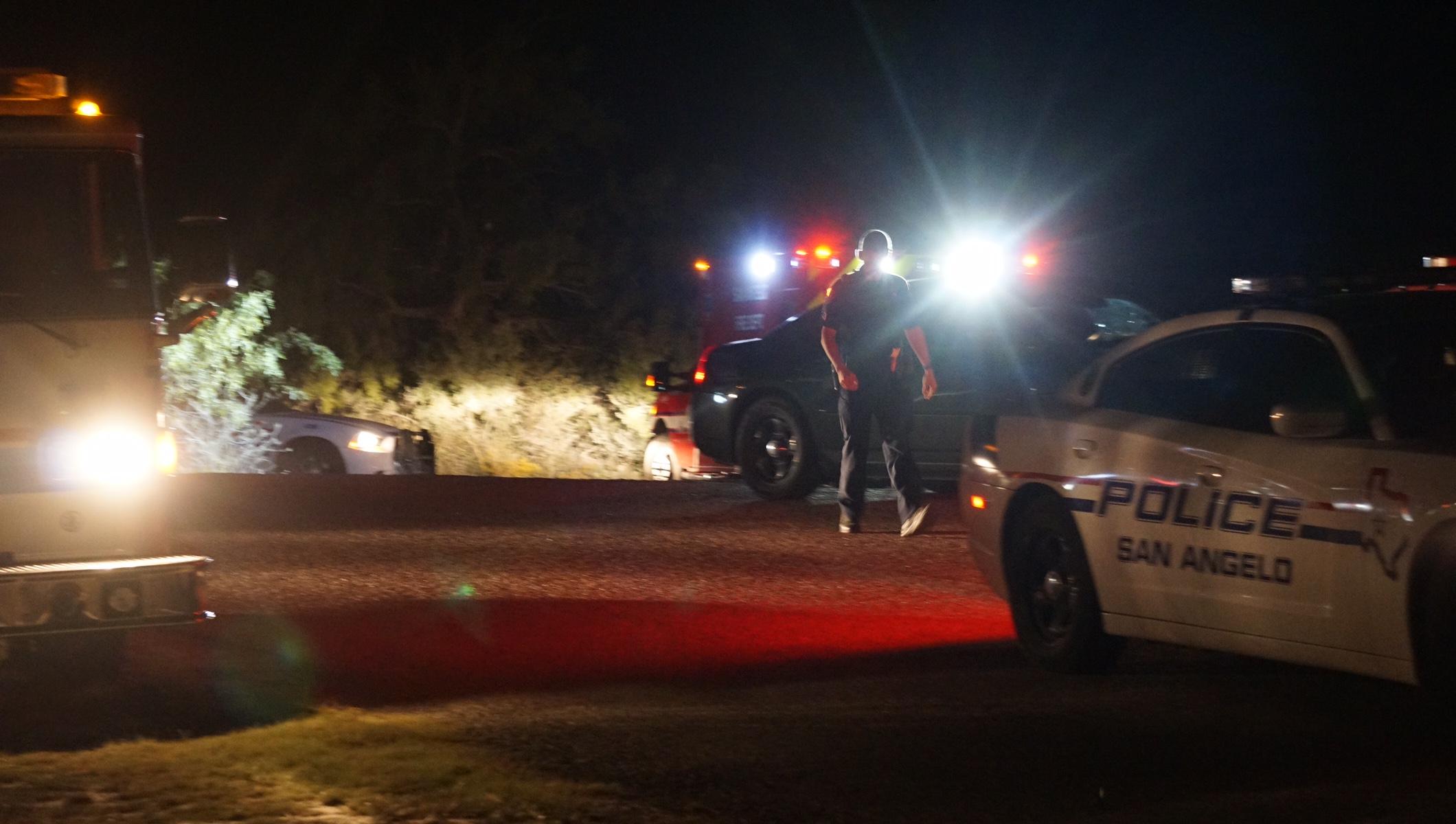 Dead bodies investigation on Spillway Rd. (LIVE! Photo/John Basquez)