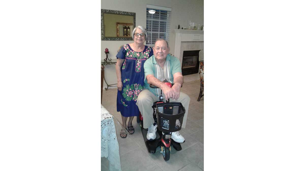 Elma and Jerry Jacques. (LIVE! Photo/Gloria Johns)