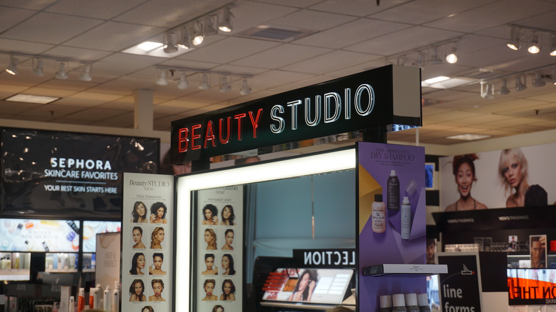 Sephora's Beauty Studio (LIVE!/Photo: Maura Ballard)