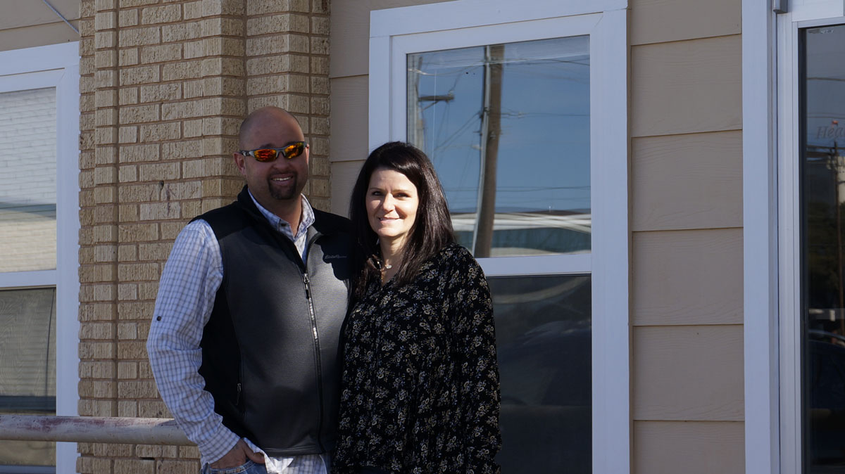 Jody and Michele Babiash plan to renovate the old Central Fire Station downtown. (LIVE! Photo/Joe Hyde)
