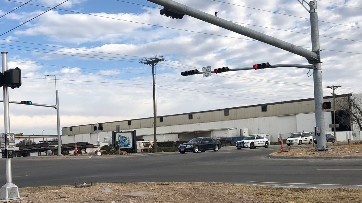 The headquarters for Hirschfeld Industries in San Angelo at 29th St. at MLK Blvd. (LIVE! Photo/John Basquez)