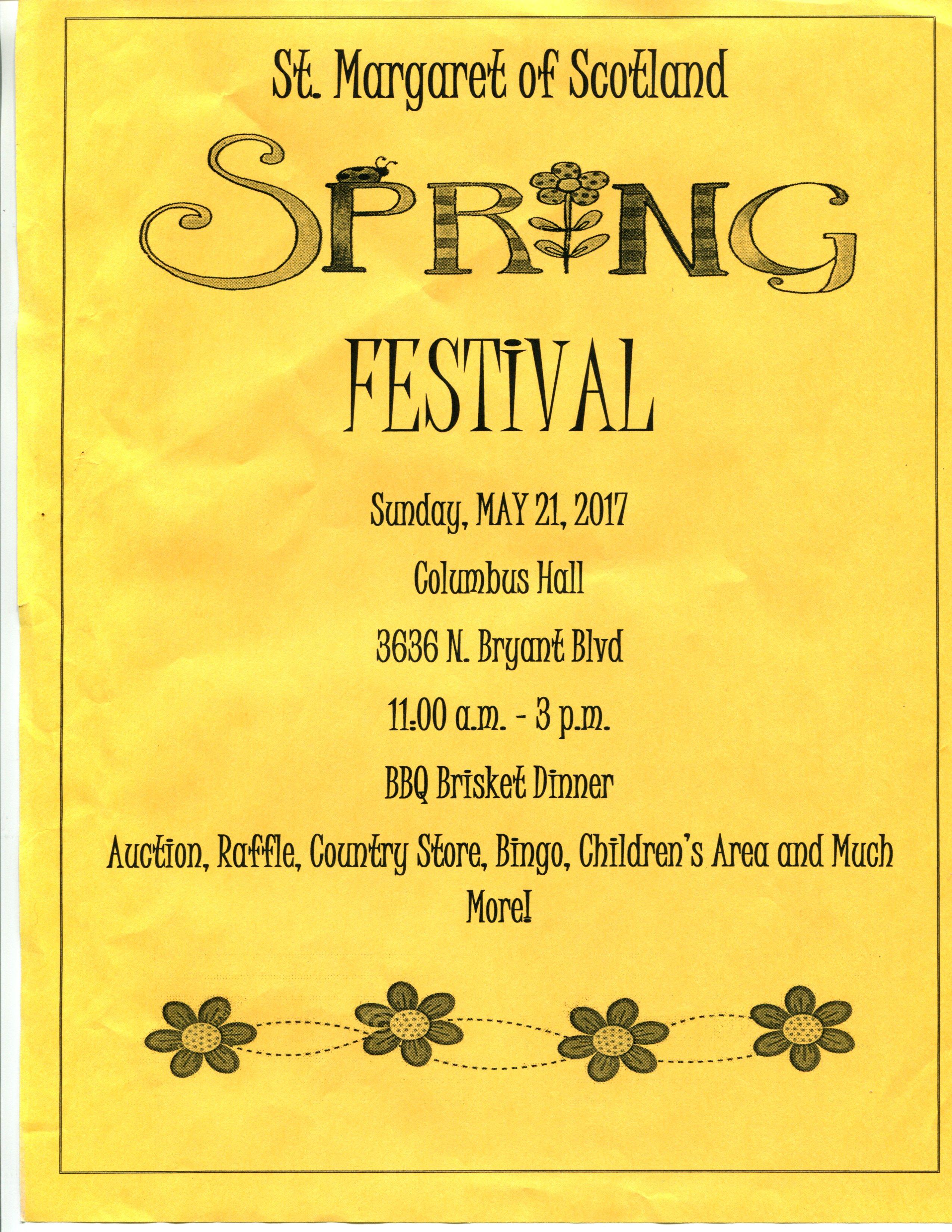 St. Margaret's Spring Festival