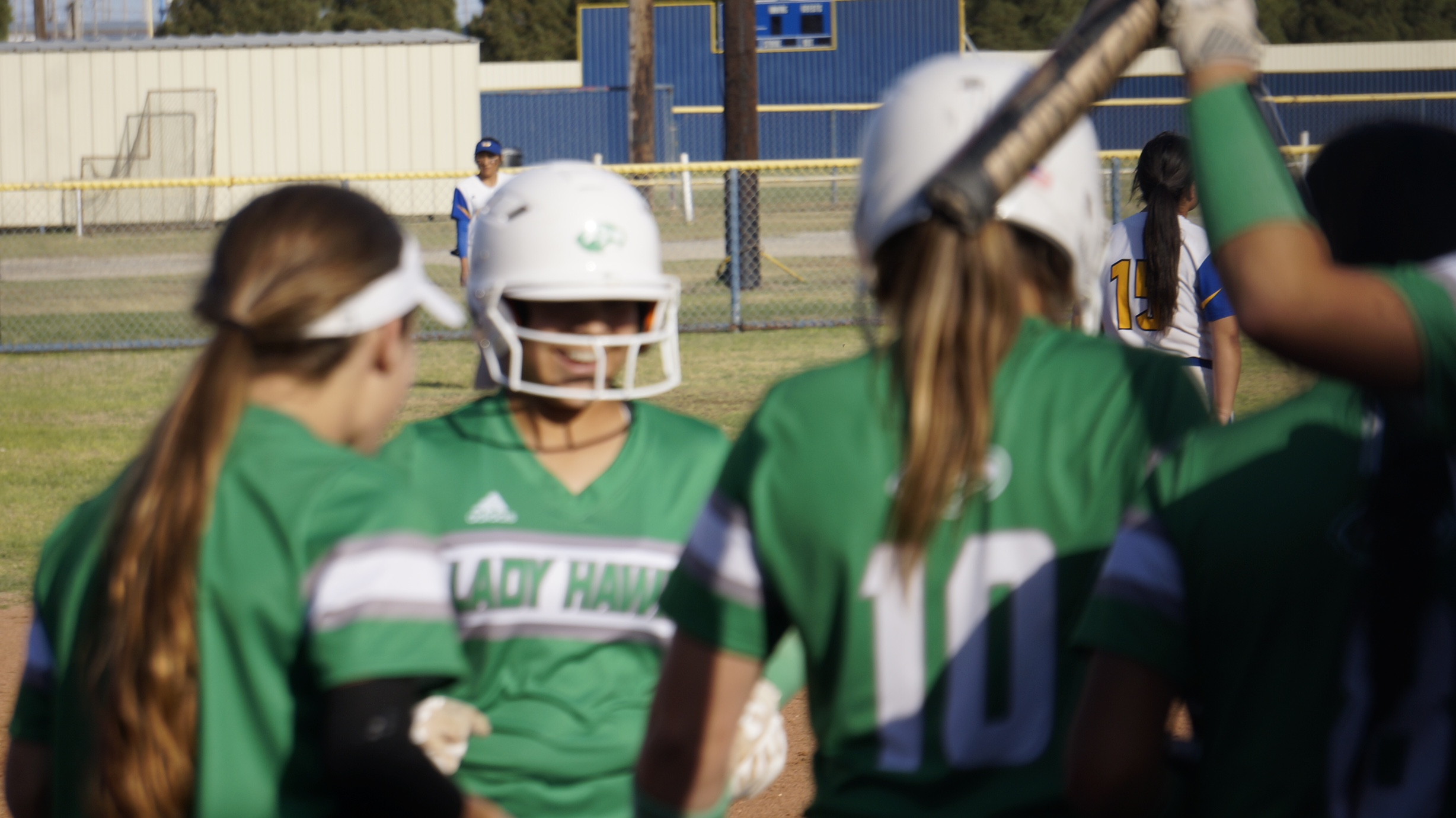 Barrage Of Long Balls Drive Lady Hawks To Win Over Reagan County