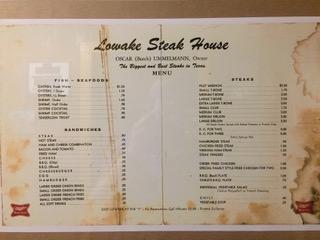Photo courtesy Lowake Steakhouse
