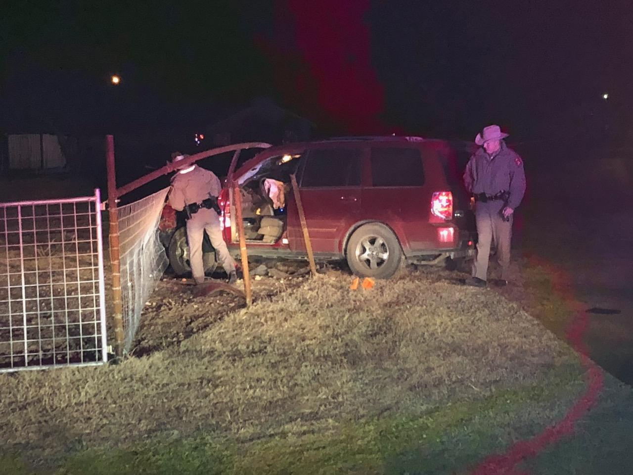 Sheriff Chases Vehicle, Suspects onto Rodeo Fairgrounds. (LIVE! Photo/John Basquez)