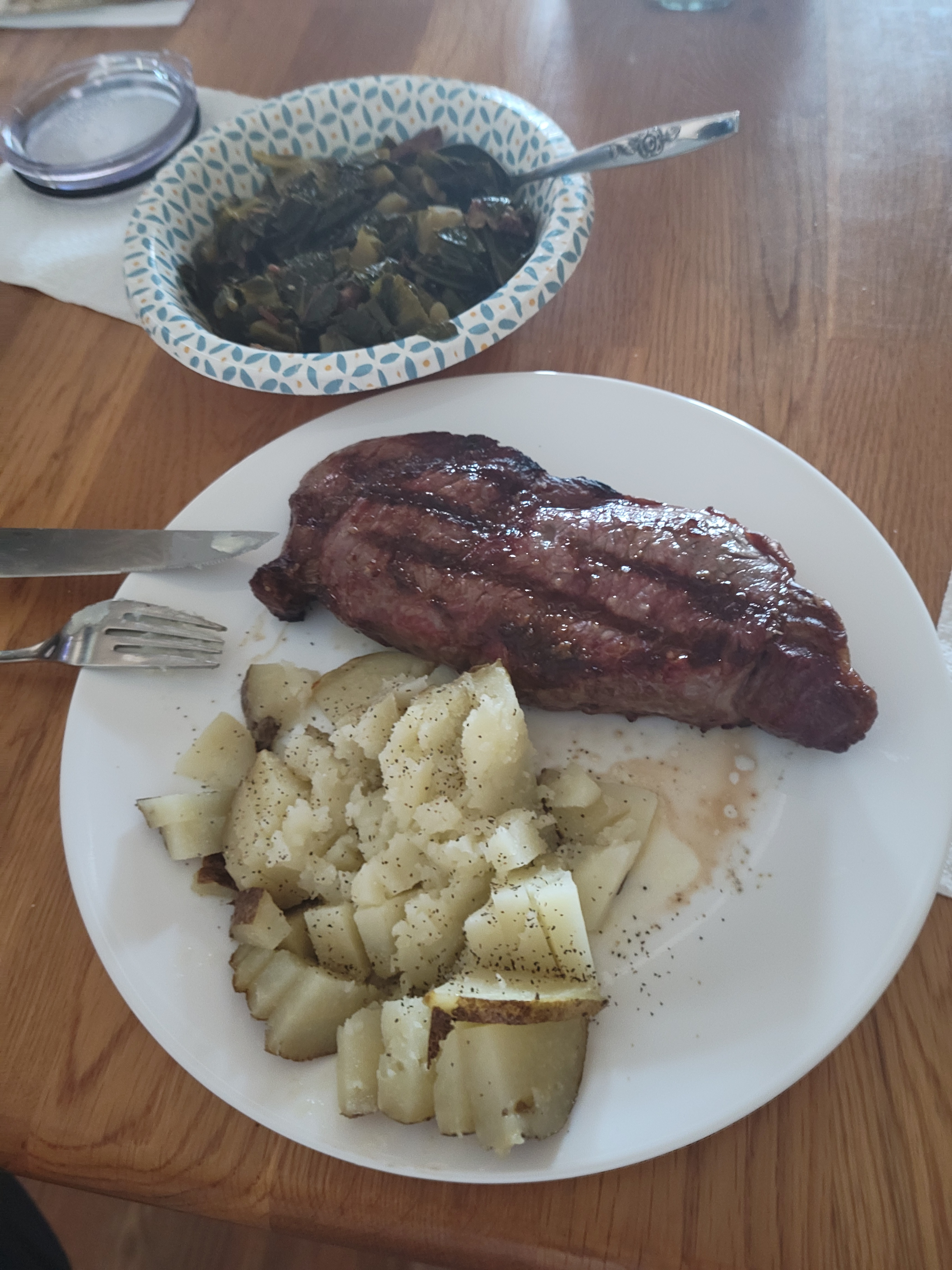 Steak dinner 5/9/2021