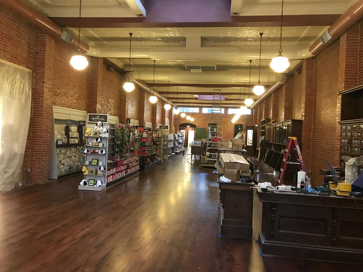 Inside Eggemeyer's new retail store. (LIVE! Photo/Joe Hyde)