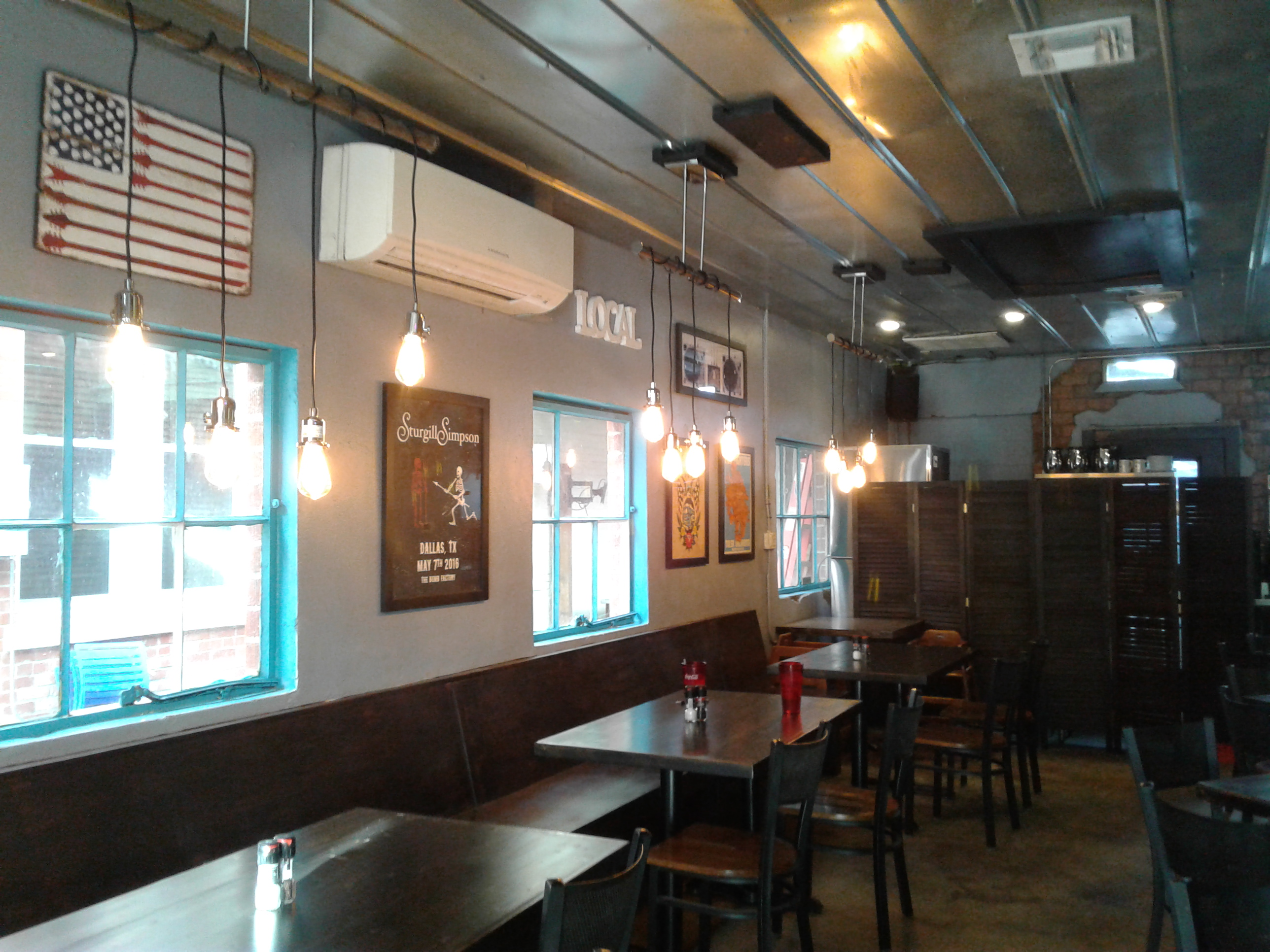 Knosh opens in the old Sealy Flats building on Oaks St.  Gloria Johns photo