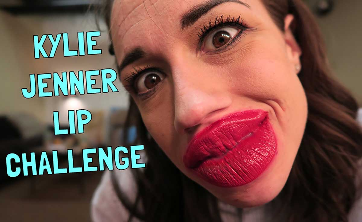 The Kylie Jenner Challenge.