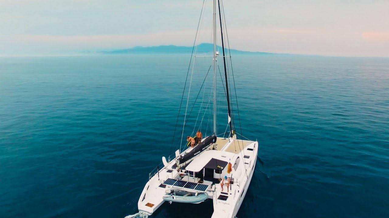 The La Vagabonde is not just any old catamaran
