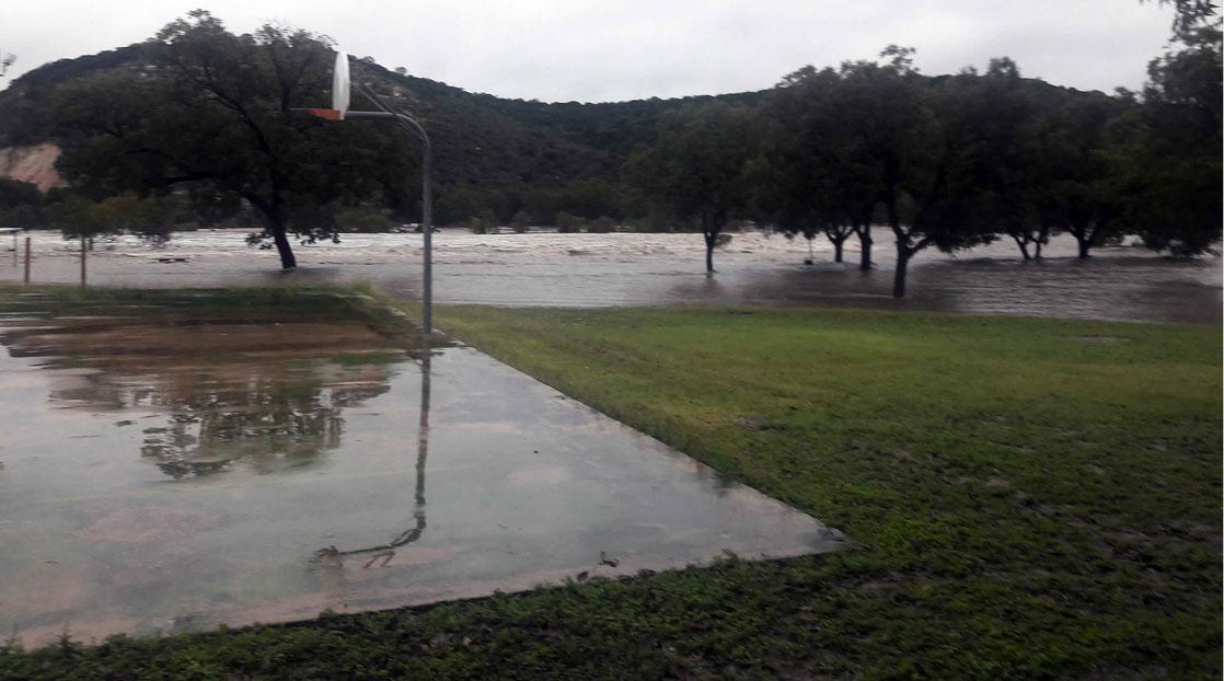 Catastrophic Flooding In Llano Closes Schools Bridge