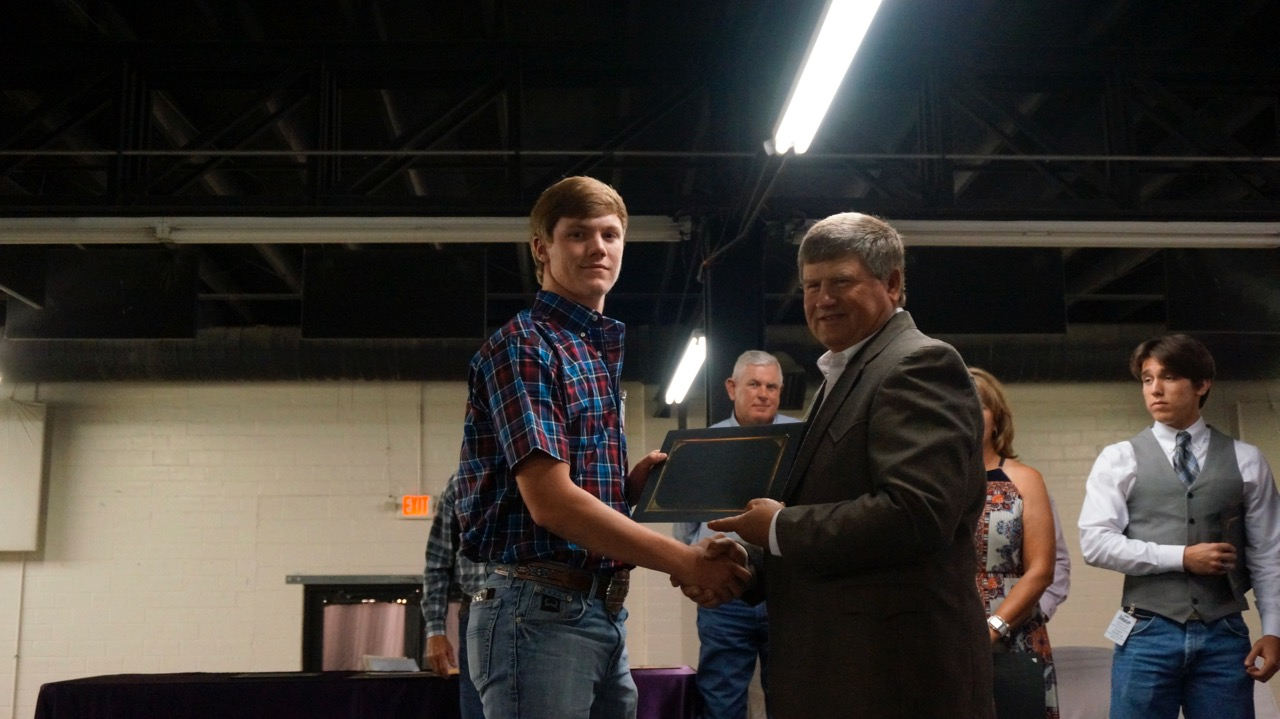 Matthew Salisbury, of Grape Creek High, will attend Angelo State University to study agriculture science.