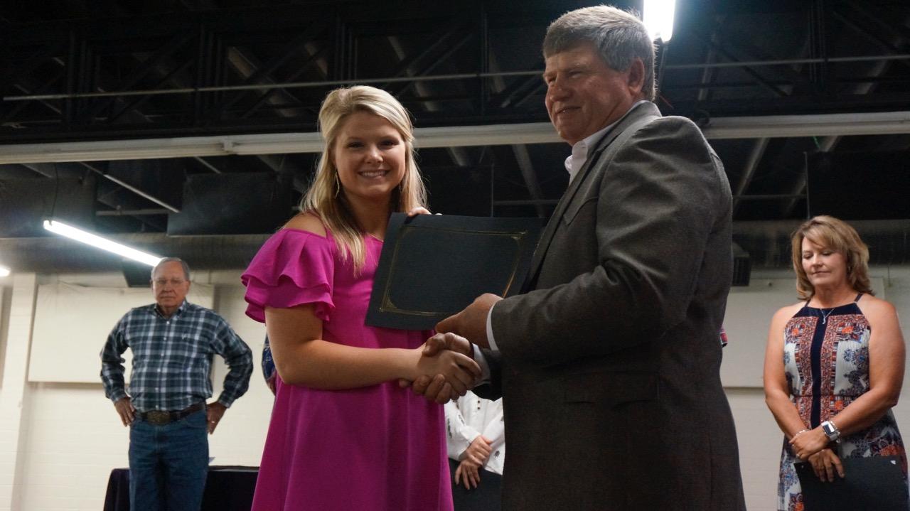 McKenzie Arrott, of Ballinger High School, will attend Texas Tech University and study agribusiness.