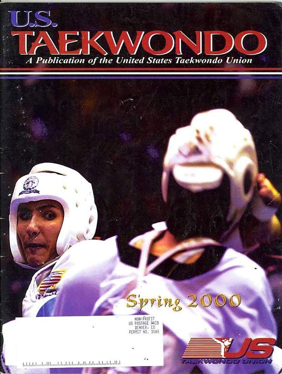 A Spring 2000 issue of U.S. Taekwondo featured Mandy Meloon on its cover. (Pintrest)