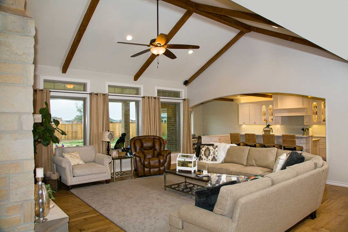New home construction by Michalewicz Homes in San Angelo, Texas. (Contributed/McLaughlin Advertising)