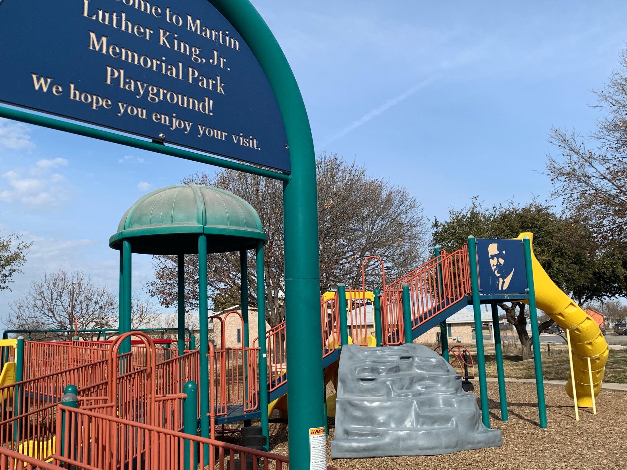 Martin Luther King Jr. Memorial Park (SA LIVE! Photo/Matt Trammell)
