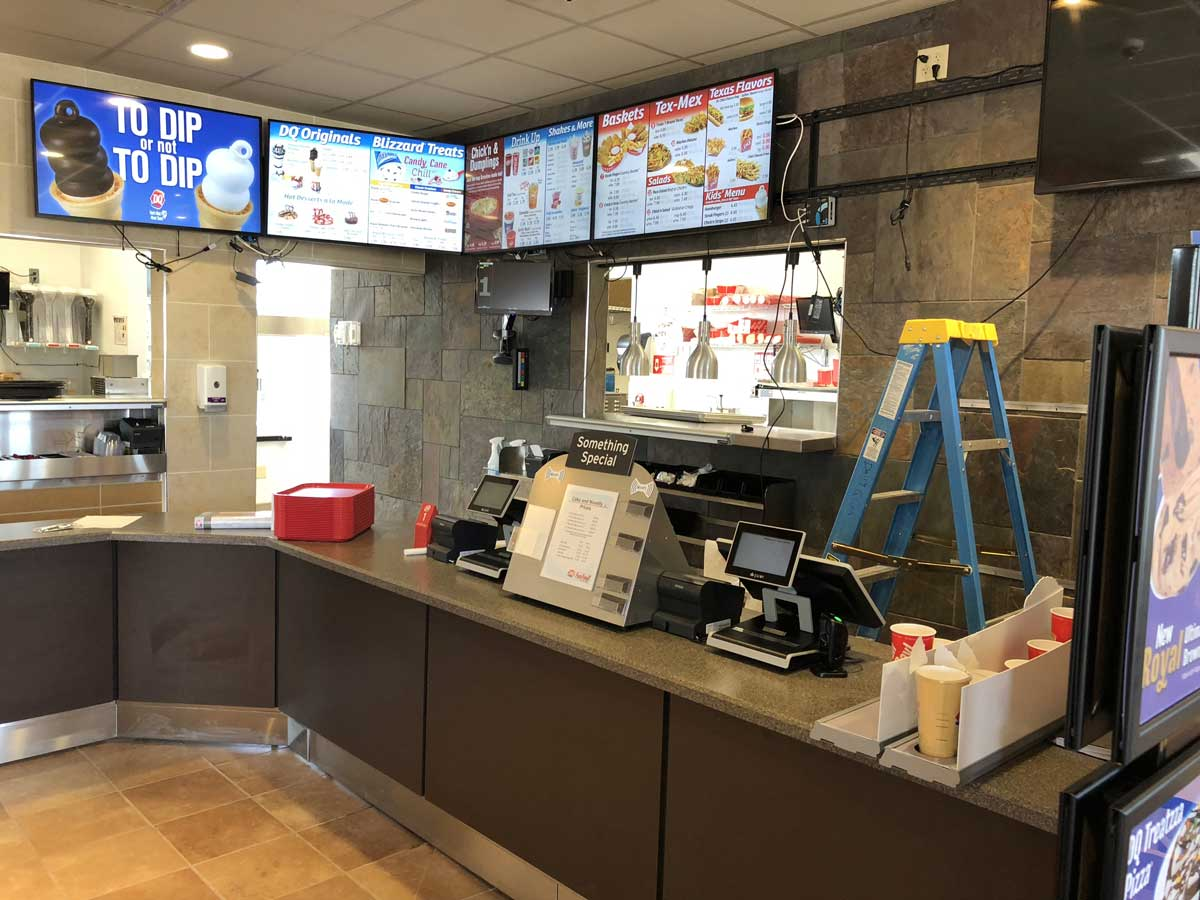 The new Dairy Queen at 3006 Knickerbocker Rd. is slated to open Nov. 24 at 10 a.m. (LIVE! Photo/John Basquez)