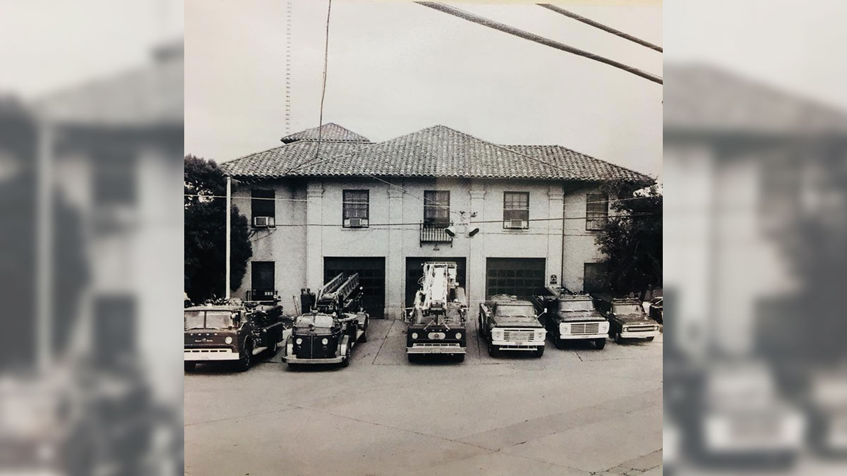 What the City of San Angelo Central Fire Station looked like the early 1970s. (Contributed/West Texas Collection at ASU)