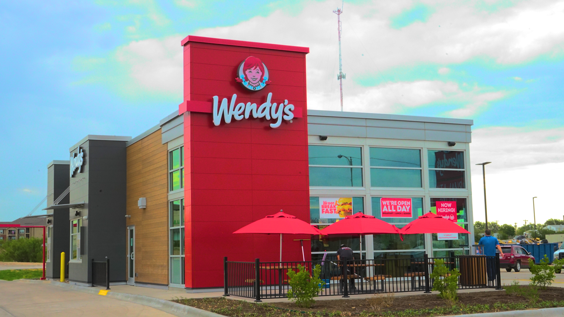 Wendy's on 29th and Bryant (LIVE! Photo/ Matt Trammell)