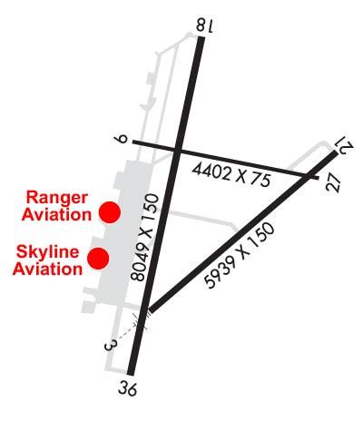 Mathis Airport Diagram (KSJT)
