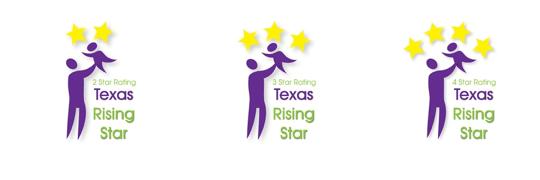 TWC Rising Star Rating Logos