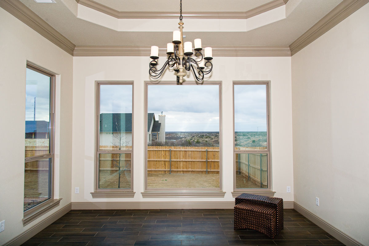 New construction in San Angelo by AB Builders and Adrian Balderas. (McLaughlin Advertising)