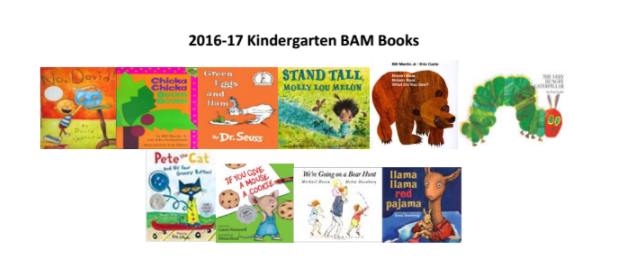 "10 ""Must Read Books"" for Kindergartners."