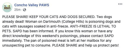 Concho Valley PAWS (FB)