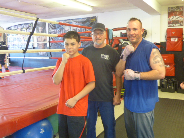 Representatives of Lubbock Texas The Boxing Gym (Photo Holiday Bailey)