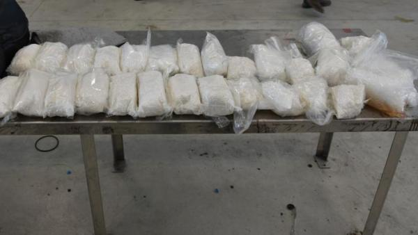 Border Agents Seize 55 Pounds of Meth