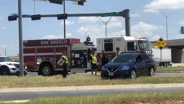 WATCH: Noon Crash Sends One to the Hospital