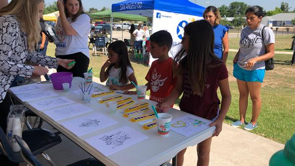 San Angelo Reads Launches First Summer Book Patrol Pop-Up Event