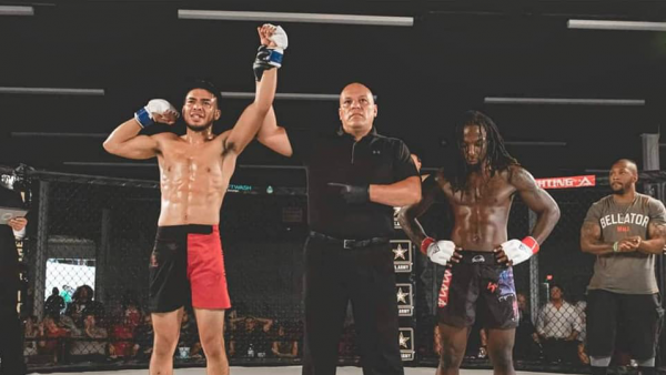 West Texas Fighter KOs Opponent in Pro MMA Debut