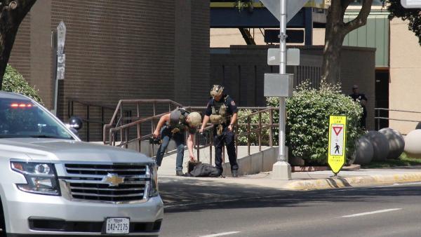 Possible Bomb Threat Evacuates Midland Courthouse