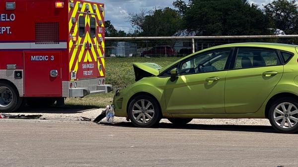 Watch: Driver Injured In Rear-End Crash Friday Afternoon