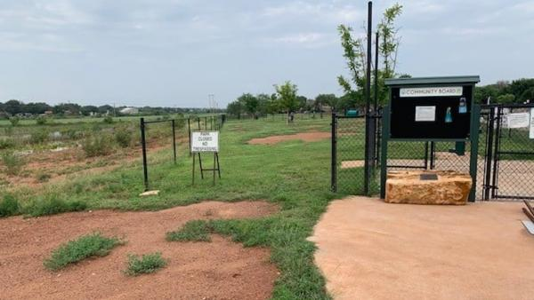 Small Dog Park Vandalized Once Again