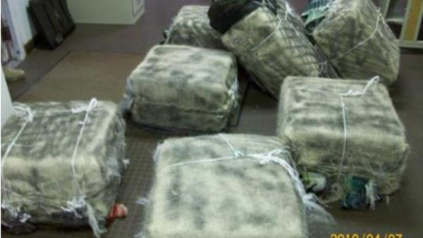 Cartel Thugs Flee From Border Agents and Abandon Bundles of Loco Weed