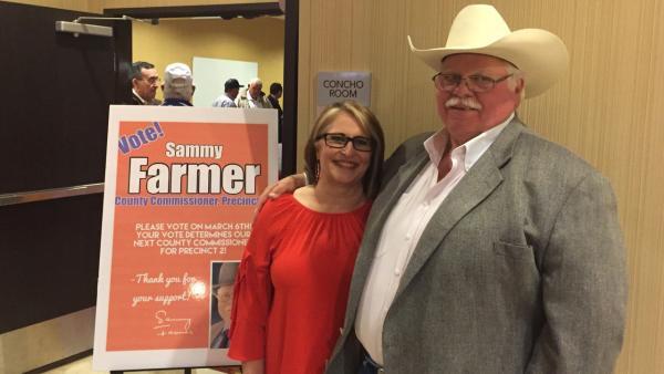 Sammy Farmer Announces He's Running for Re-Election