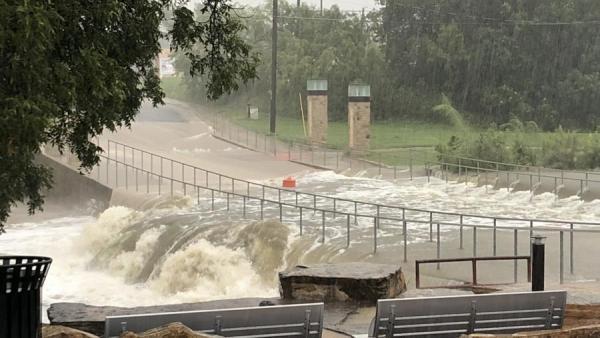 Record Breaking Rainfall in San Angelo Sunday